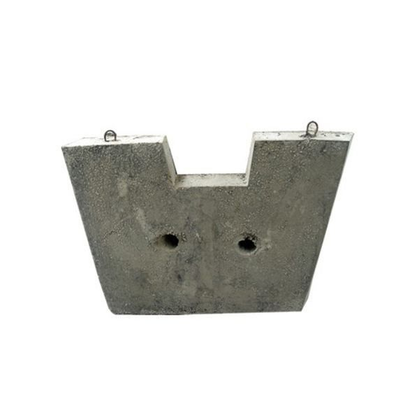 High Strength Precast Concrete Blocks Tundish Slag Wall And Dam Erosion Resistance